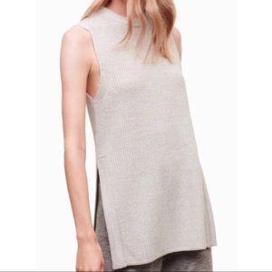 • Wilfred | aritzia • long sweater tank